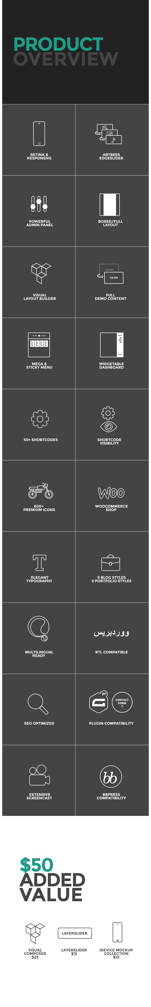 4 - The Ken - Multi-Purpose Creative WordPress Theme