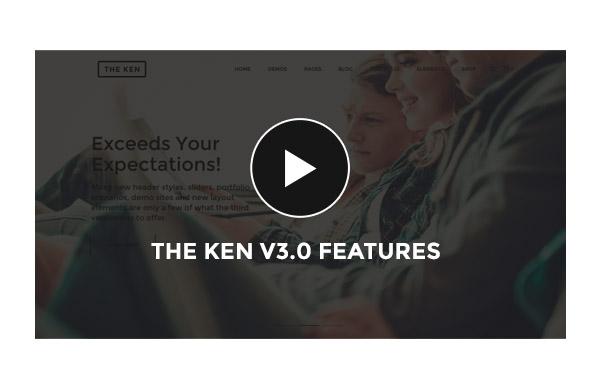 ken video - The Ken - Multi-Purpose Creative WordPress Theme