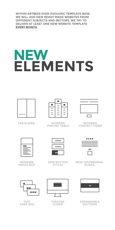 new elements - The Ken - Multi-Purpose Creative WordPress Theme
