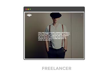 template freelancer - The Ken - Multi-Purpose Creative WordPress Theme